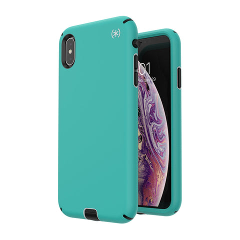 Shop SPECK PRESIDIO SPORT IMPACTIUM CASE FOR IPHONE XS MAX - TEAL/BLACK Cases & Covers from Speck