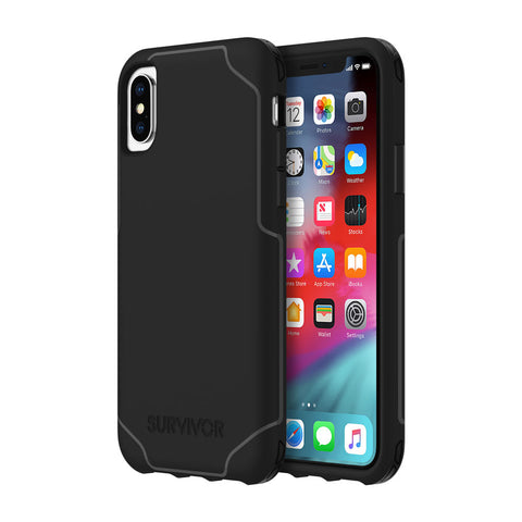 Shop GRIFFIN SURVIVOR STRONG CASE FOR IPHONE XS/X - BLACK Cases & Covers from Griffin