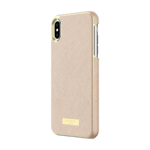 Shop KATE SPADE NEW YORK WRAP CASE FOR IPHONE XS MAX - SAFFIANO ROSE GOLD  from Syntricate Asia