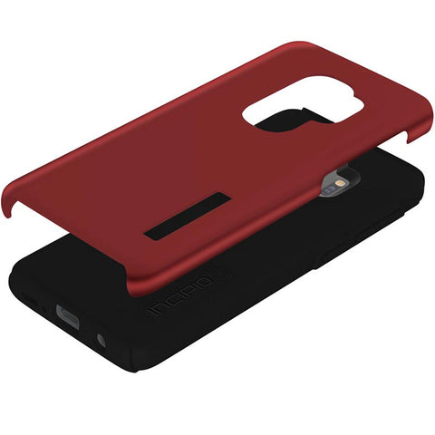Shop INCIPIO DUALPRO DUAL LAYER PROTECTIVE CASE FOR SAMSUNG GALAXY S9 PLUS - INRIDESCENT RED Cases & Covers from Incipio