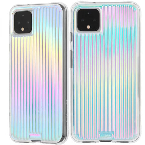 "Shop Case-Mate Tough Groove Case For Google Pixel 4 (5.7"") - Iridescent Cases & Covers from Casemate"