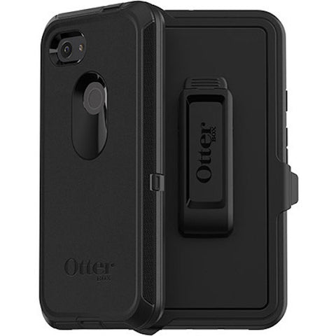 Shop OTTERBOX Defender Screenless Rugged Case For Google Pixel 3A - Black Cases & Covers from Otterbox