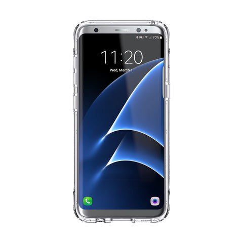 Shop GRIFFIN SURVIVOR CLEAR ULTRA SLIM CASE FOR SAMSUNG GALAXY S8+ (6.2 INCH) - CLEAR Cases & Covers from Griffin