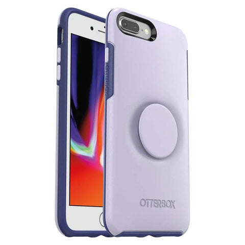 Shop OTTER + POP SYMMETRY SERIES FOR IPHONE 8 PLUS/7 PLUS - LILAC DUSK PURPLE Cases & Covers from Otterbox