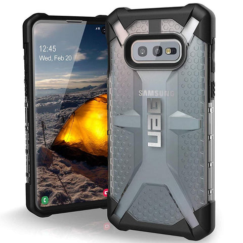 gray case from uag for samsung galaxy s10e