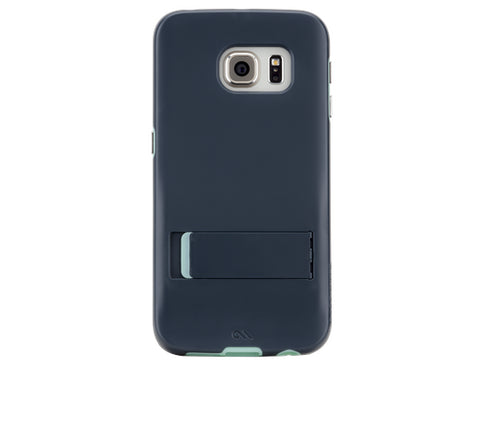 Shop CaseMate Tough Stand Case suits Samsung Galaxy S6 Edge - Blue/Mint Cases & Covers from Casemate