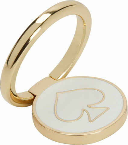 Shop INCIPIO KATE SPADE NEW YORK STABILITY RING - GOLD AND CREAM ENAMEL Stands from Kate Spade New York