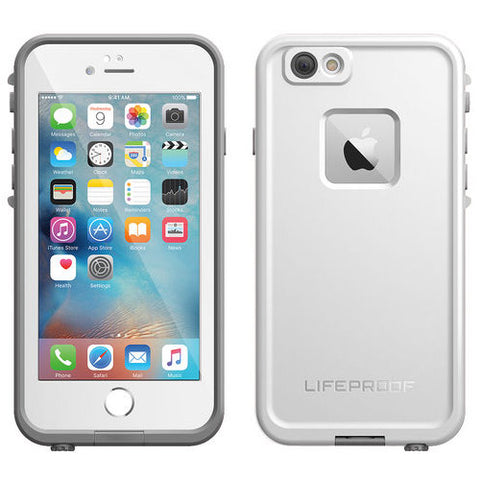 Shop LifeProof Fre WaterProof case for iPhone 6S/6 - White Cases & Covers from Lifeproof