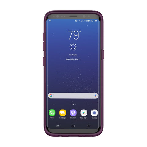 Shop INCIPIO OCTANE PURE CO-MOLDED CASE FOR SAMSUNG GALAXY S8+ (6.2 INCH) - PLUM Cases & Covers from Incipio