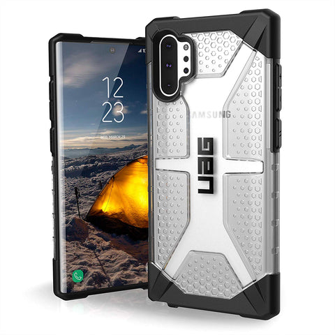 Shop UAG PLASMA ARMOR SHELL CASE FOR GALAXY NOTE 10 PLUS / NOTE 10 PLUS 5G (6.8-INCH) - ICE Cases & Covers from UAG