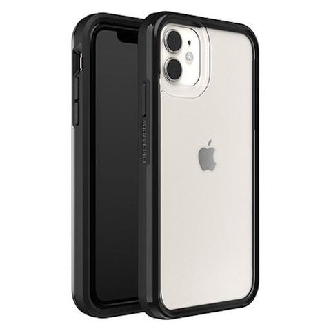 "LIFEPROOF Slam Ultra-Thin Rugged Case For iPhone 11 (6.1"") - Clear/Black"