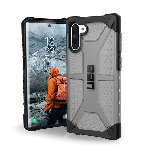 Shop UAG PLASMA ARMOR SHELL CASE FOR GALAXY NOTE 10 (6.3-INCH) - ASH Cases & Covers from UAG