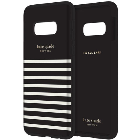 buy online black case with whhite stripe for samsung galaxy s10