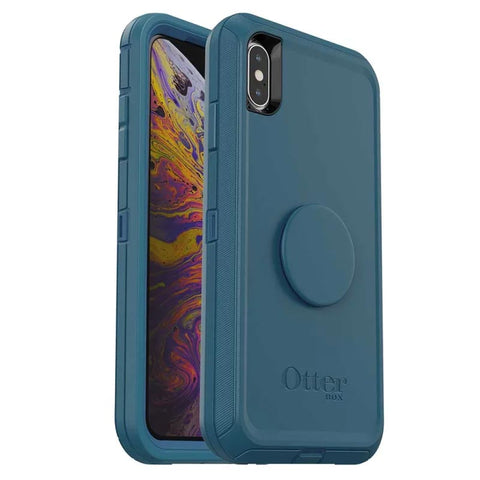 Shop OTTERBOX OTTER + POP DEFENDER CASE FOR IPHONE XS MAX - WINTER SHADE  from Syntricate Asia