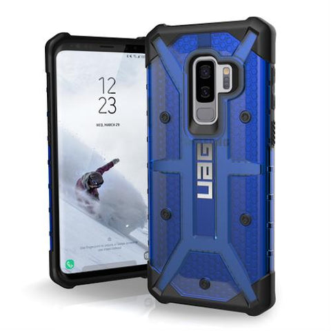 Shop UAG PLASMA ARMOR SHELL CASE FOR SAMSUNG GALAXY S9 PLUS - COBALT  from Syntricate Asia