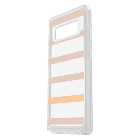 OTTERBOX SYMMETRY CLEAR GRAPHICS SLIM CASE FOR SAMSUNG GALAXY NOTE 8 - INSIDE THE LINES