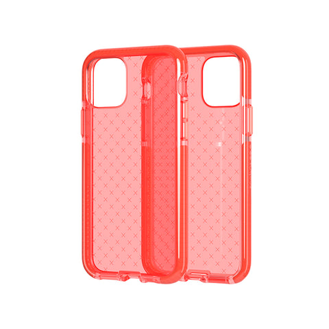 "Shop Tech21 Evo Check Tough Case For iPhone 11 Pro (5.8"") - Coral Cases & Covers from Tech21"