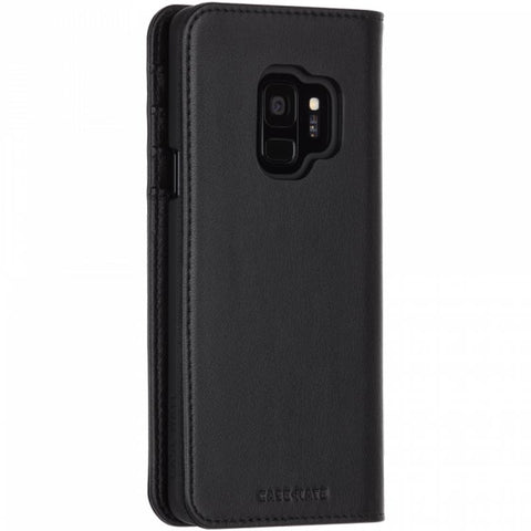 Shop CASEMATE WALLET LEATHER CARD FOLIO CASE FOR GALAXY S9 - BLACK Cases & Covers from Casemate