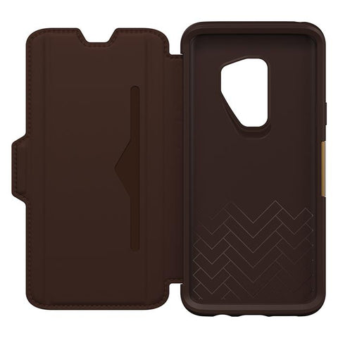 Shop OTTERBOX SYMMETRY STRADA LEATHER FOLIO CASE FOR SAMSUNG GALAXY S9 PLUS -ESPRESSO Cases & Covers from Otterbox