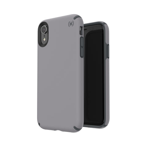 Shop SPECK PRESIDIO PRO IMPACTIUM CASE FOR IPHONE XR - SLATE GREY  from Syntricate Asia