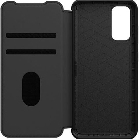 "Shop OTTERBOX Strada Leather Card Folio Wallet Case For Galaxy S20 (6.2"") - Black Cases & Covers from Otterbox"