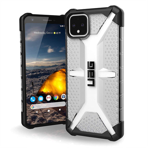 "Shop UAG Plasma Feather-Light Rugged Case For Pixel 4 XL (6.3"") - Ice Cases & Covers from UAG"