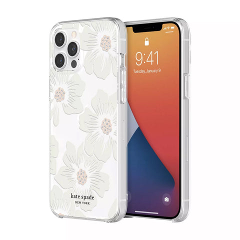 Buy new iPhone 12 Pro Max protective hardshell case from Kate spade New York - Hollyhock Floral the authentic accessories with afterpay & Free express shipping.