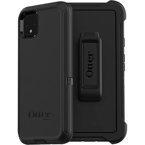 "Shop Otterbox Defender Case For Google Pixel 4 XL (6.3"") - Black Cases & Covers from Otterbox"