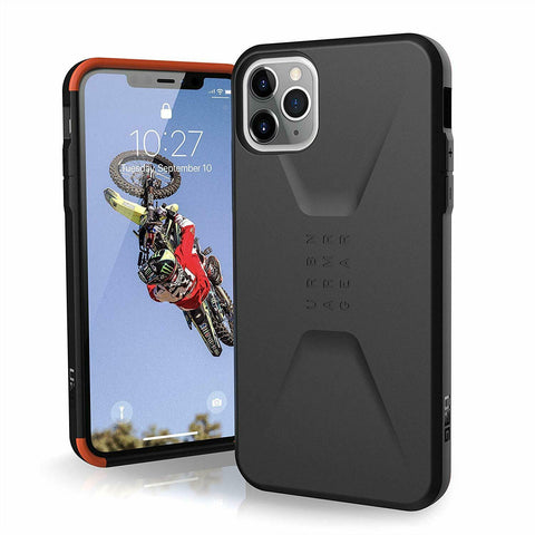 "Shop UAG Civilian HoneyComb Core Case for iPhone 11 Pro Max (6.5"") - Black Cases & Covers from UAG"