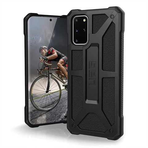"Shop UAG Monarch Handcrafted Rugged Case For Galaxy S20 Plus (6.7"") - Carbon Fiber  from Syntricate Asia"