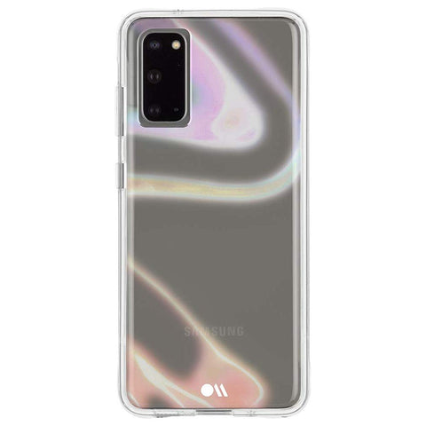 Shop Casemate Tough Clear Case For Galaxy S20 (6.2-inch) - Soap Bubble Cases & Covers from Casemate