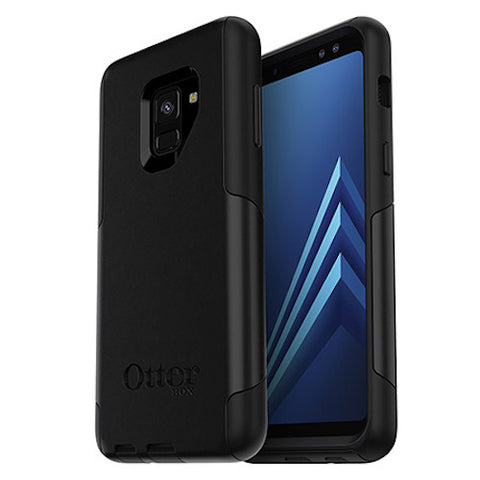Shop OTTERBOX COMMUTER SLIM TOUGH CASE FOR SAMSUNG GALAXY A8 (2018) - BLACK Cases & Covers from Otterbox