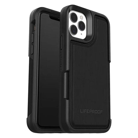"Shop LifeProof Flip Wallet Case  for Iphone 11 Pro Max (6.5"") - Dark Night Cases & Covers from Lifeproof"