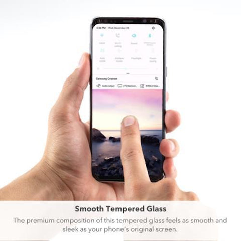 Shop ZAGG INVISIBLE SHIELD GLASS CURVE ELITE TEMPERED GLASS SCREEN PROTECTOR FOR SAMSUNG GALAXY S9 PLUS  from Syntricate Asia