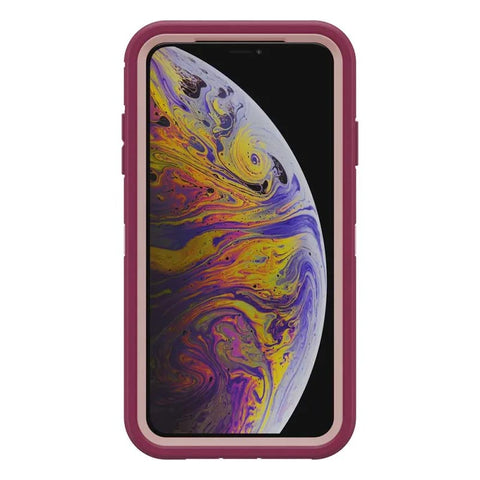 Shop OTTERBOX OTTER + POP DEFENDER CASE FOR IPHONE XS MAX - FALL BLOSSOM  from Syntricate Asia