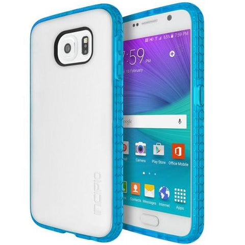 Shop Incipio Octane case for Samsung Galaxy S6 - Frost/Neon Blue Cases & Covers from Incipio