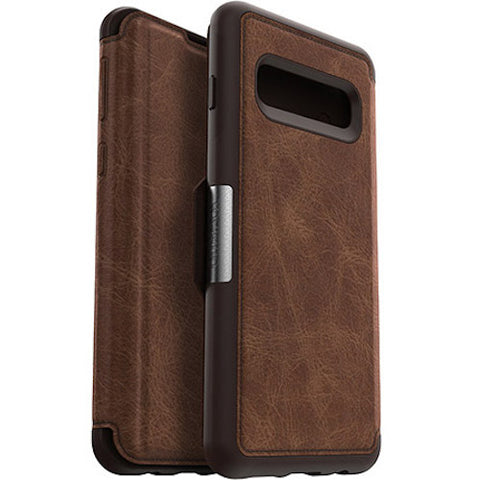 folio leather case for samsung galaxy s10 plus
