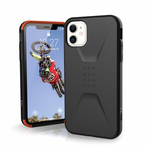 "UAG Civilian HoneyComb Core Case for iPhone 11 (6.1"") - Black"