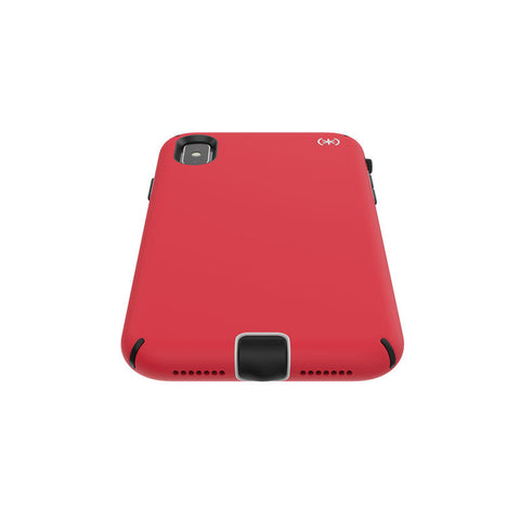SPECK PRESIDIO SPORT IMPACTIUM CASE FOR IPHONE XS MAX - HEARTRATE RED/GREY/BLACK