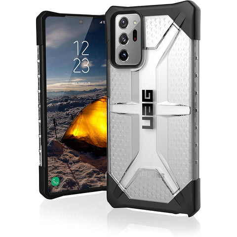 "UAG Plasma Lightweight Rugged Case For Galaxy Note 20 Ultra (6.9"") 5G - Ice"