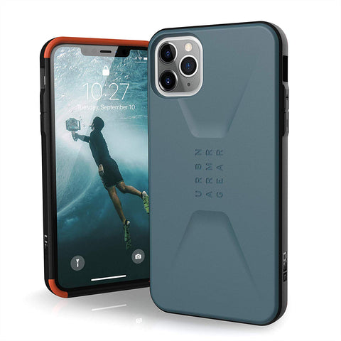 "Shop UAG Civilian HoneyComb Core Case for iPhone 11 Pro Max (6.5"") - Slate Cases & Covers from UAG"