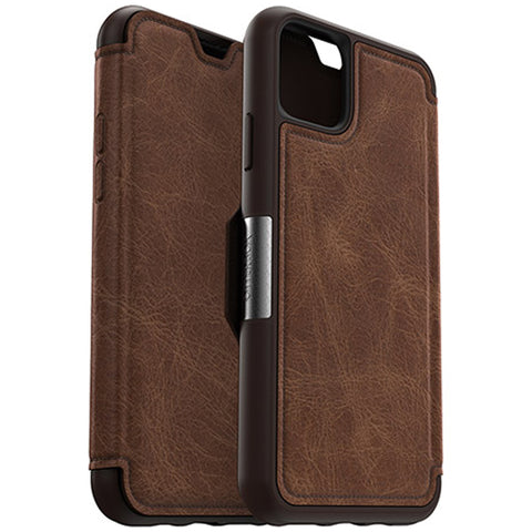 "Shop Otterbox Strada Leather Folio Wallet Case For iPhone 11 Pro Max (6.5"") - Espresso Cases & Covers from Otterbox"
