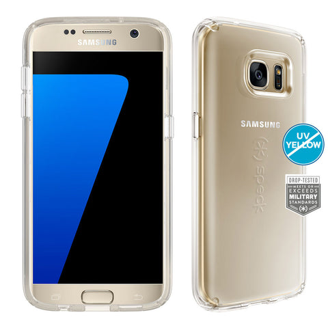 Shop Speck CandyShell Clear Case for Samsung Galaxy S7 - Clear  from Syntricate Asia