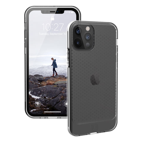 best rugged case from UAG with translucent design for new iphone 12 pro max now comes with free express shipping. stay protected and safe.