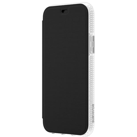 "Shop GRIFFIN Survivor Clear Wallet for iPhone 11 Pro (5.8"") - Clear/Black Cases & Covers from Griffin"