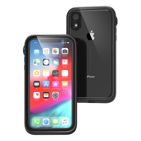 Shop CATALYST WATERPROOF CASES FOR IPHONE XR - STEALTH BLACK Cases & Covers from Catalyst
