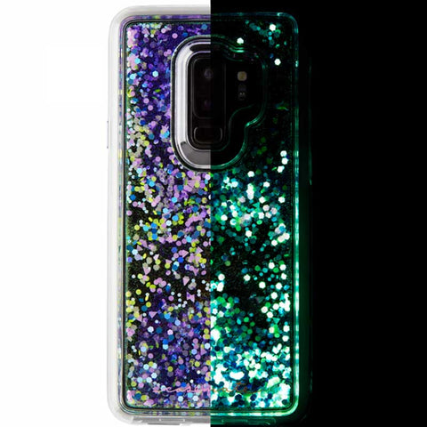 Shop CASEMATE WATERFALL SPARKLE GLITTER CASE FOR GALAXY S9 PLUS - GLOW PURPLE Cases & Covers from Casemate