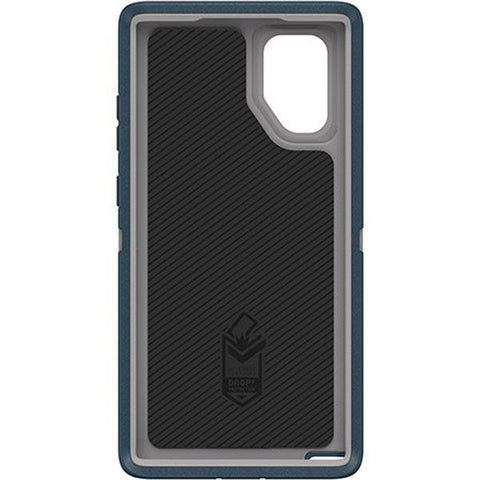 Shop OTTERBOX DEFENDER RUGGED CASE FOR GALAXY NOTE 10 PLUS/GALAXY NOTE 10 PLUS 5G (6.8 INCH) - GONE FISHIN BLUE Cases & Covers from Otterbox