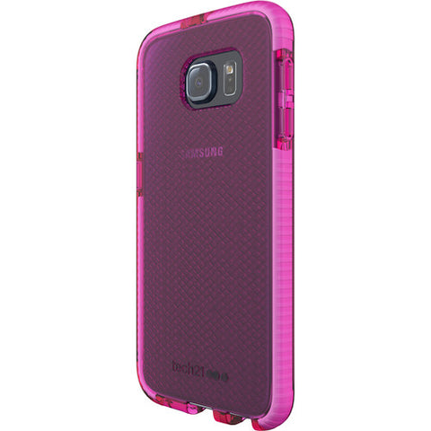 Shop Tech21 Evo Check Case for Galaxy S6 - Pink/White Cases & Covers from TECH21