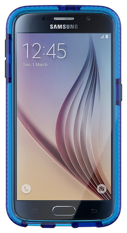 Shop Tech21 Evo Check Case for Galaxy S6 - Dark Blue/White Cases & Covers from TECH21